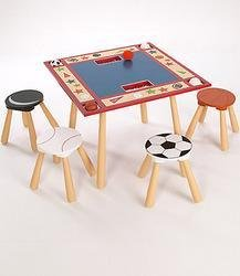 Levels of Discovery All Star Child's Table and 4 Stool Set