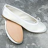Freed of London Satin Ballet Opera Bridesmaids Flats