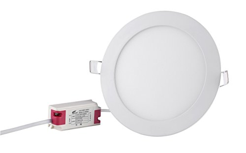 Hausbell PBD-12W LED Recessed Ceiling Light Round Ultra-Thin Cool White Super Bright LED Downlight (12 Watts) by...