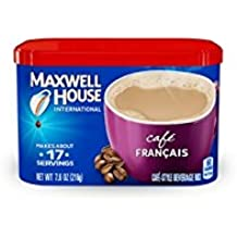 Maxwell House International Coffee Cafe Francais, 7.6-Ounce Cans (Pack of 4)