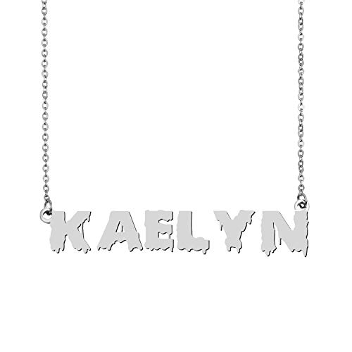 GR35Z9 Name Necklace Personalized Jewelry for Teen Girls Kaelyn
