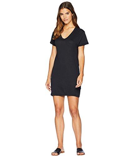 Beyond Yoga Vintage Pima Modal Jersey Northstar Dress, Black, Large ()