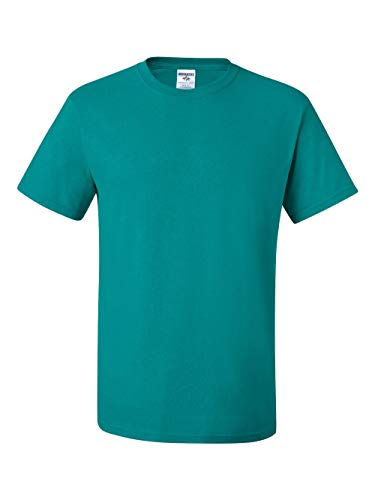 Jerzees 5.6 oz., 50/50 Heavyweight Blend T-Shirt, 4XL, JADE -