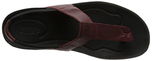KEEN Women's Dauntless Posted Sandal Red Dahlia cheap sale low cost GR959