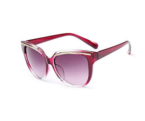 Fashion Cat Eye Sunglasses Women Brand Designer Vintage Mirror Eyebrow Design Sun Glasses Uv400 ()