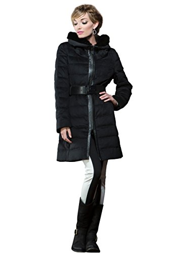 guy-laroche-womens-black-mink-and-down-quilted-mid-length-cashmere-coat