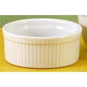 BIA Cordon Bleu White Porcelain 10 ounce Souffle Dish