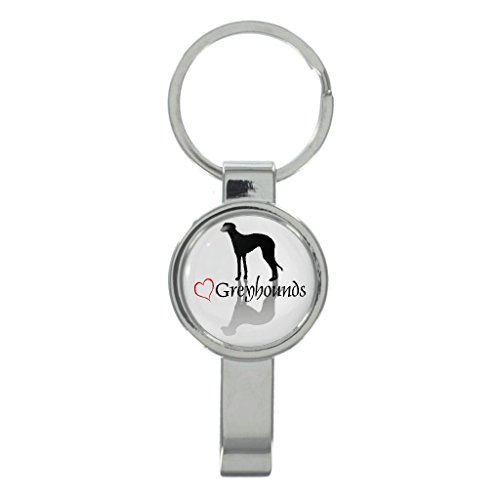 - Stylish Greyhounds Cap Remover Keyring with Free Gift Box