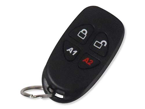 NAPCO GEM-KEYF Compact 4-Button Key-Chain Remote