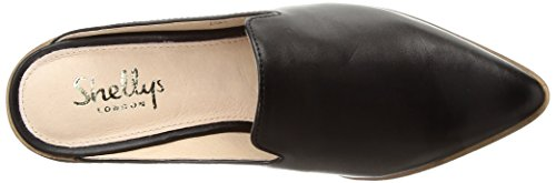 Women's London Shellys Black Mule Cantara BT7qx4fq