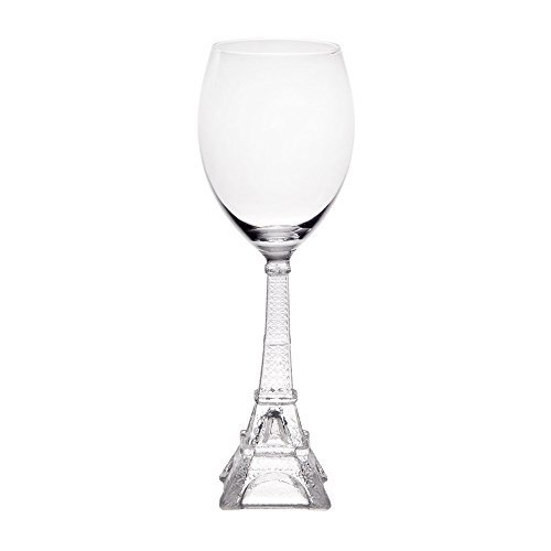 Home Essentials Vintage Eiffel Tower White Wine - Paris Wine Glass