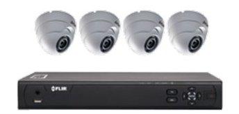 Flir Digimerge M31041C4 - 4CH 720P DVR W 4 DOME CAM, 1TB