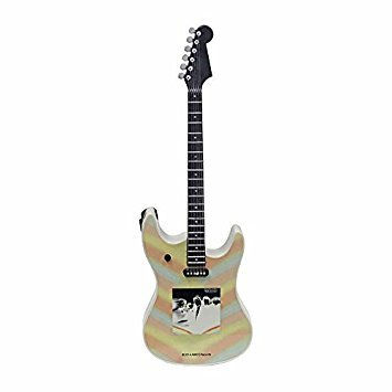 Rolling Stones Musical Electric Guitar Ornament - Plays 'I'm Free' ()