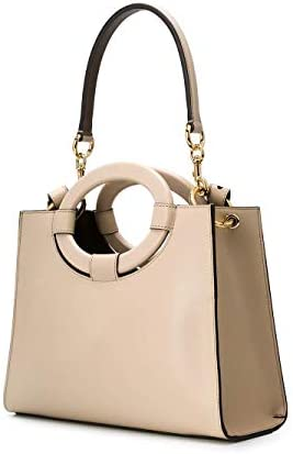 Fendi Luxury Fashion Donna 8BH353A8SLF19PN Beige Pelle Borsa A Mano | Primavera-estate 20