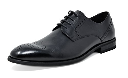 Bruno Marc Men's Washington Genuine Leather Dress Oxfords Shoes