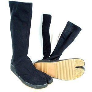 artes marciales Ninja Outdoor Long Tabi Boots - Euro 40 ...