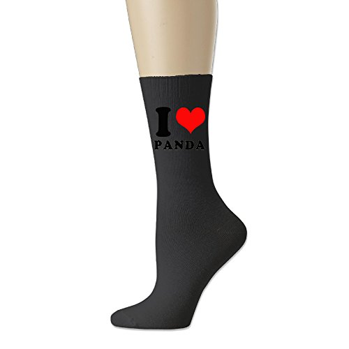 I Love Panda Geek Cotton Socks Low-Cut Socks