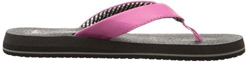 Sanuk Yoga Mat - Sandalias de lona para mujer Rosa