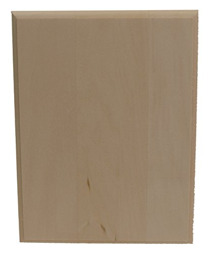 Walnut Hollow Basswood Rectangle Plaque, 6 by 8-Inch