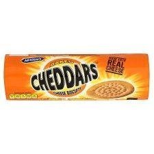 Mcvities Cheddars Cheese Biscuits 150g - Pack of 6 (Best Cheese Biscuits)