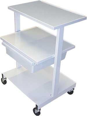 - Offset Shelf Cart