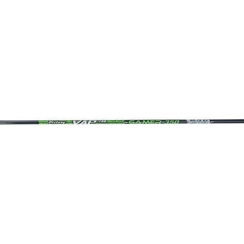 Victory Archery VAP Gamer Shafts (One Dozen), Black, 300