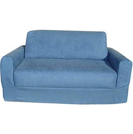 Amazon.com: Hebel Micro Suede Sofa Sleeper | Model SF - 136 ...