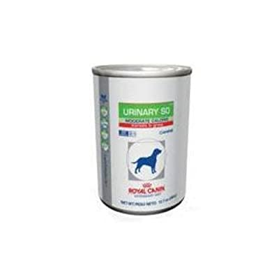 Royal Canin Urinary SO Moderate Calorie MIG Canned Dog Food 24/13oz