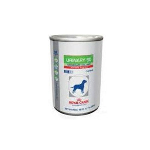 Royal Canin Urinary SO Moderate Calorie MIG Canned Dog Food 24/13oz by Royal Canin