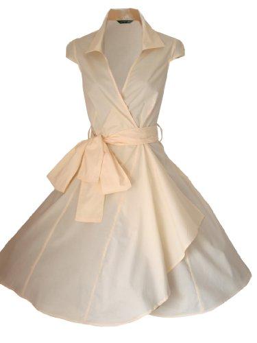 Sommerkleid Größen Gelb 34 50er LOOK 52 Vintage Rockabilly FOR Kleid Party Cocktailkleid Stil STARS Abend THE Jahre EU Retro ff7AaxU6q