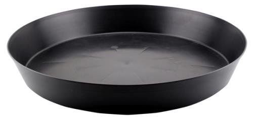 BloomGrow 10.5'' / 12.5'' Black  Duty Plastic Saucer Round