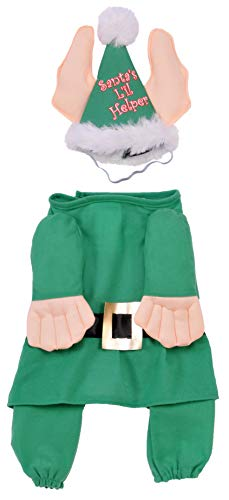 Rubie's Santa's Little Helper Elf Pet Costume, Small - http://coolthings.us
