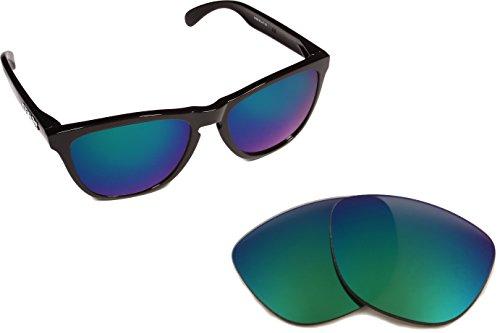 Best SEEK Replacement Lenses Oakley MOONLIGHTER - Polarized Jade - Moonlighter Lenses Oakley