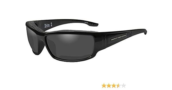 0e976f7f6055 Harley-Davidson Men's Drive 2 Gasket Sunglasses, Gray Lens/Black Frame  HADRI01 at Amazon Men's Clothing store: