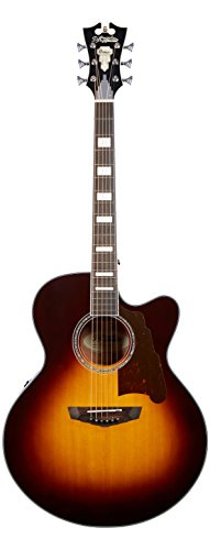 D'Angelico Premier Madison Acoustic-Electric Guitar - Vintage Sunburst