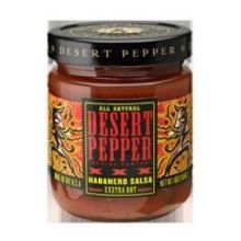 Desert Pepper Trading Co Salsa Xxx Rstd Habanero 16 OZ (Pack of 6)