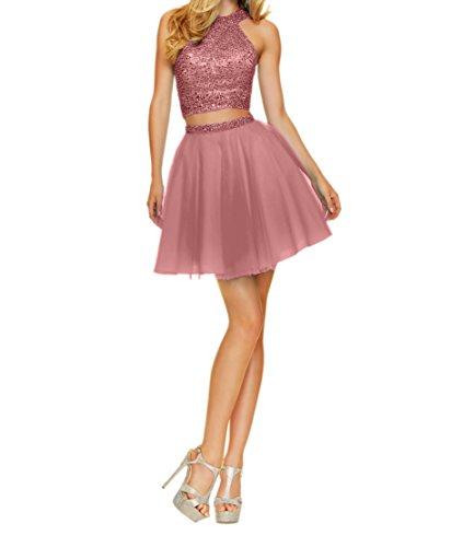 Tuell Mini Kurz Abendkleider Promkleider Partykleider mia Alt Rosa Cocktailkleider La Herrlich Tanzenkleider Blau Braut XwRPg
