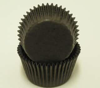 50 Black Cupcake Liners Baking Cups STANDARD SIZE