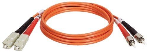 Tripp Lite N304-010 Duplex Multimode 62.5/125 Fiber Optic Patch Cable SC/ST - 3M (10ft) Size: 3 meters by Portable & Gadgets