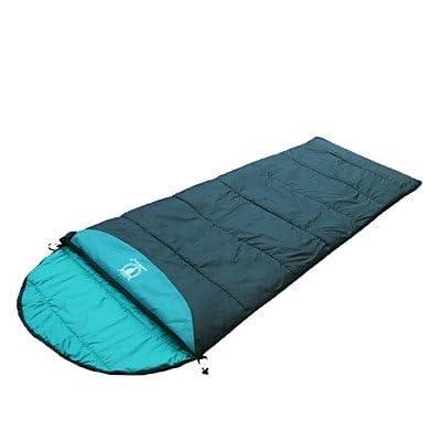 ZYT Sac de couchage Rectangulaire Simple +5°C~+15°C Coton 190+30cm X 75cm Camping / Plage / Voyage / Outdoor / IndoorEtanche / Respirabilité