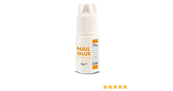 Pegamento The Edge de 3 g ultrarresistente para puntas de uñas ...