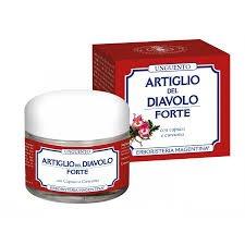 artiglio del diavolo forte pomata  UNGUENTO ARTIGLIO DEL DIAVOLO FORTE - 50 ml: : Bellezza
