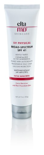EltaMD UV Physical SPF 41 Facial Sunscreen ,3 oz by EltaMD