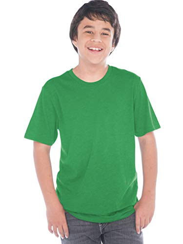 Kellys Shirt Kids Girls - Kavio! Youth Crew Neck Short Sleeve Tee Jersey (Same YJC0263) Kelly Green S