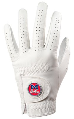 Mississippi Rebels Golf Glove & Ball Marker – Left Hand – Medium   B00BFLNJFG