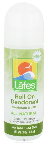 - LAFE'S NATURAL BODY CARE DEOD,Hemp ROLL-ON,T Tree, 3 FZ