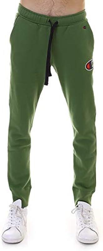 CHAMPION Rib Cuff Pants, grün, XS: Sport & Freizeit