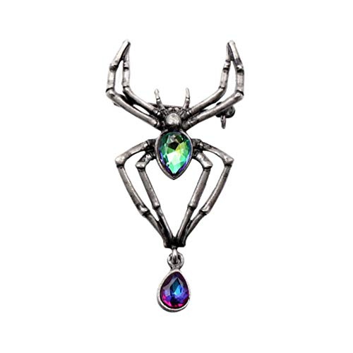 - WUSUANED Victorian Style Spider Brooch Pins Clothing Jewelry for Women Men Halloween Party Gift (Spider Brooch)