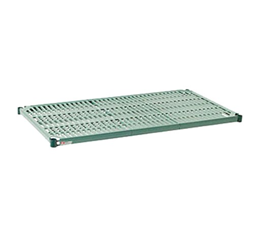 "Metro PR2430NK3 Super Erecta Pro Metroseal 3, Epoxy Coated Polymer, Standard Open Grid Shelf with Removable Mat, 800 lb. Capacity, 1"" Height x 30"" Width x 24"" Length  (Pack of 4)"