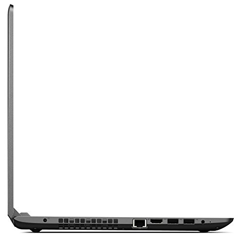 Lenovo Ideapad 110 15.6 inch HD Flagship High Performance Laptop PC, Intel Pentium 4405U Dual-Core, 6GB DDR4, 1TB HDD, DVD RW, WIFI, Bluetooth, Dolby Audio, Windows 10, Black